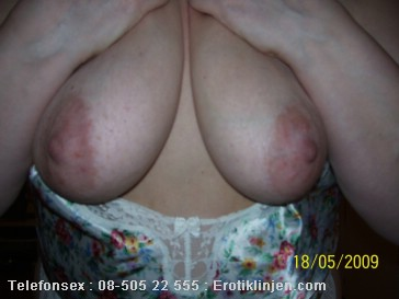 Sexy Pictures (phone Sex): Come and suck on my breasts.