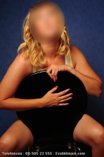 Telefonsex beskrivning: Jag älskar att posera naken.
