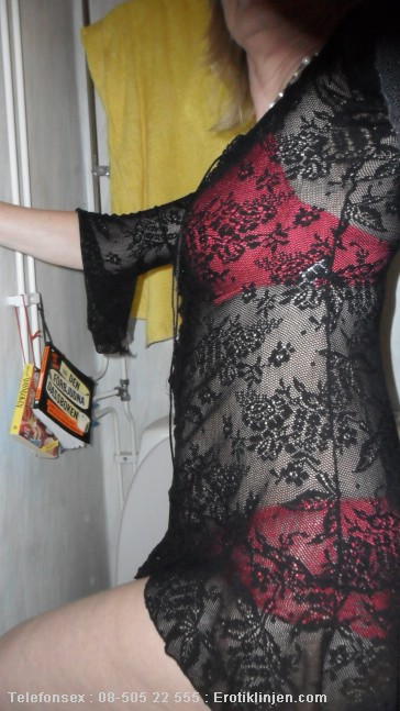 Karin Telefonsex beskrivning: Kåt och redo för dig.