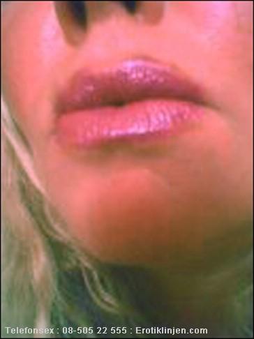 Telefonsex beskrivning: Mjuka kåta läppar..