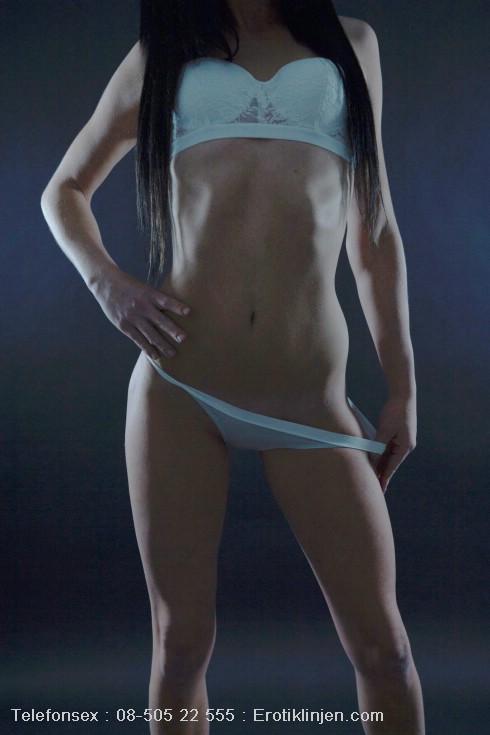 Telefonsex beskrivning: Min sexiga kropp & jag har en tajt våt och trång fitta