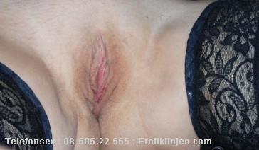 Eliza Telefonsex beskrivning: En härligt kåt fitta, den kan ta emot alla kukar, alla storlekar och väldigt mycket sperma.